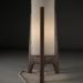 3d Table lamp DRAPER John Sterling model buy - render