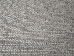 Hand-woven gray fabric