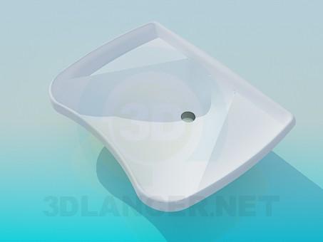 3d modeling Sink model free download