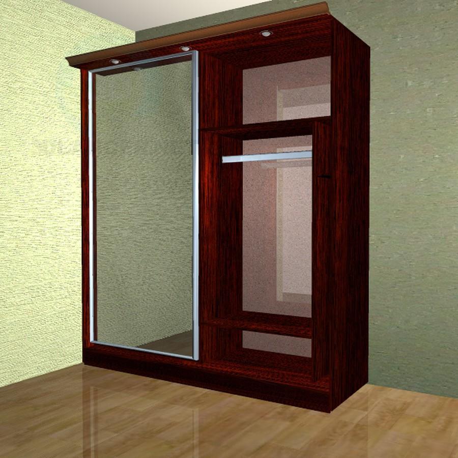 3d модель шкаф купе – превью