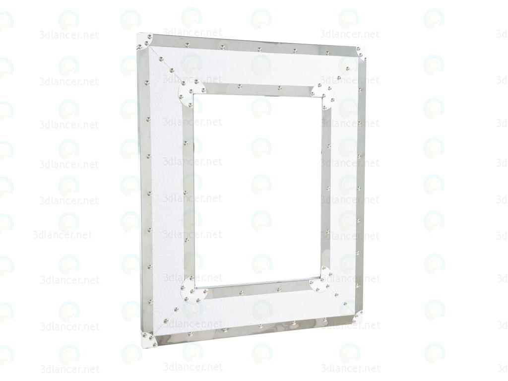3d модель Зеркало Croco Noble White – превью