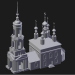 3d model Suzdal. Mihaly Church of St. Michael the Archangel - preview