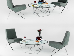 Geometric low table