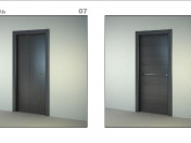 3d collection of interior doors from Sofia Doors