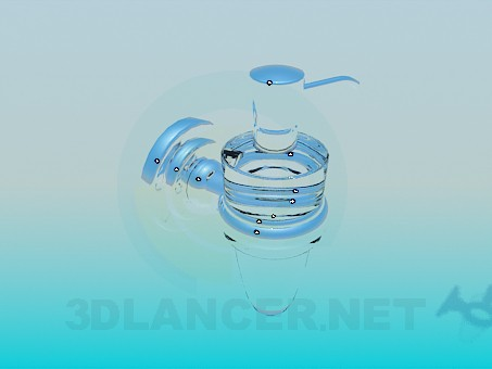3d modeling flask for liquid soap model free download