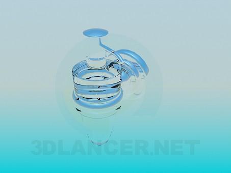 modelo 3D frasco de jabón líquido - escuchar