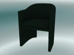 Dining chair, office Loafer (SC24, H 79cm, 57х59cm, Velvet 1 Forest)