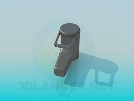 3d моделювання Змішувач для умивальника модель завантажити безкоштовно