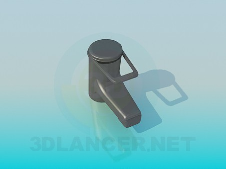 3d model Washbasin faucet - preview