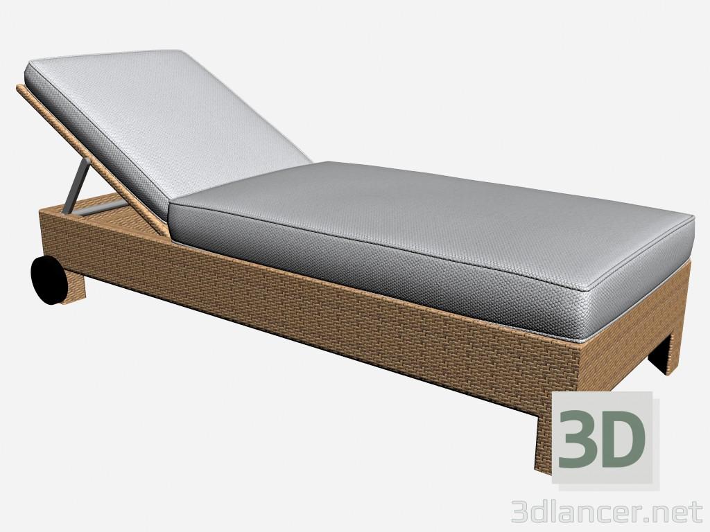 3d model Bouncer Deckchair Cinema 6460 6465,Kettal max(2012), - Free