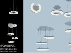 Collection of fixtures Lightstar