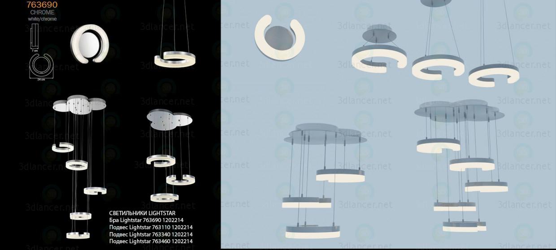 3 डी फिक्स्चर Lightstar का संग्रह मॉडल खरीद - रेंडर