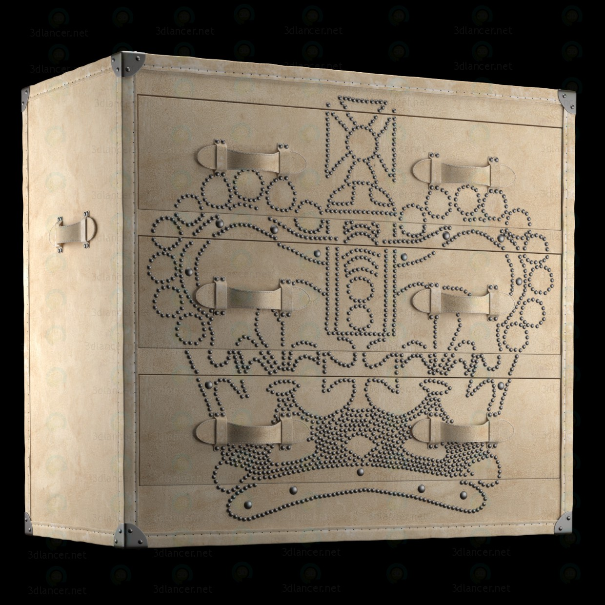 3d CHEST ANDREW MARTIN model buy - render