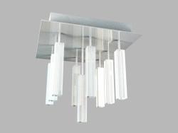 Потолочный светильник Primavera, хром, MX4512-9A, 9х20Вт, G4