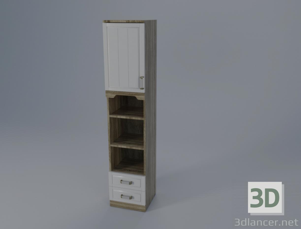3D Modell Schrankkoffer - Vorschau