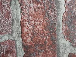 Mur en brique rouge