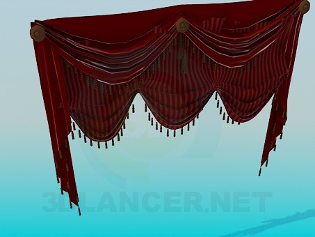 3d model Bando for curtains - preview
