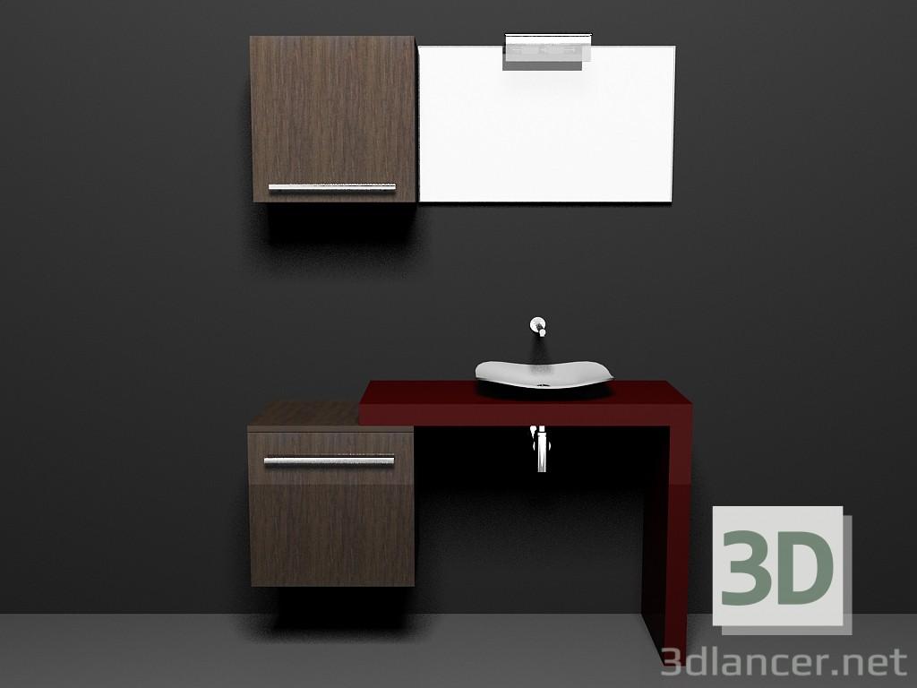 Modelo 3d Sistema modular para baño (canción) (29) del fabricante ...