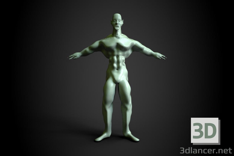 3d Human model buy - render
