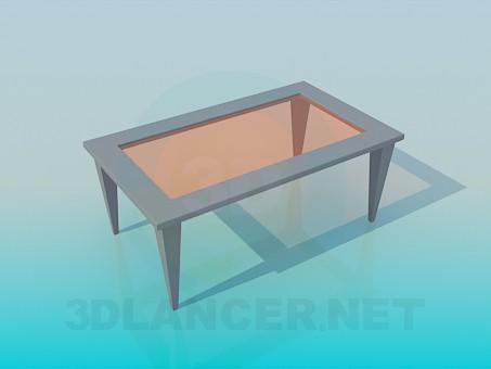3d модель Стіл журнальний – превью