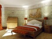 SIENA классическая спальня фабрики CamelGroup