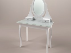 HEMNJeS. Ikea dressing table with mirror