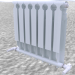 3d The radiator compartment. model buy - render