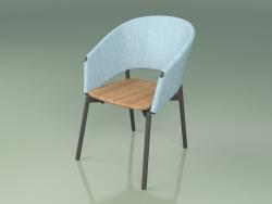 Comfort chair 022 (Metal Smoke, Sky)