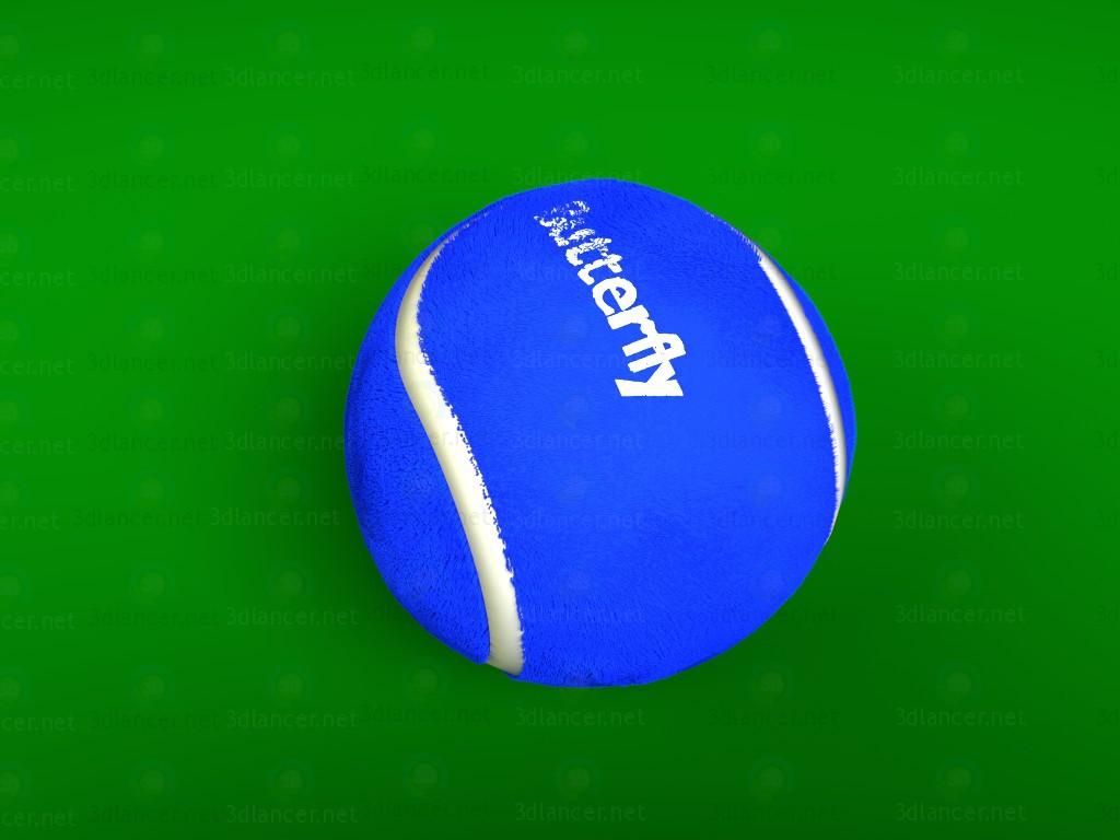 3d модель Тенісний м'яч – превью