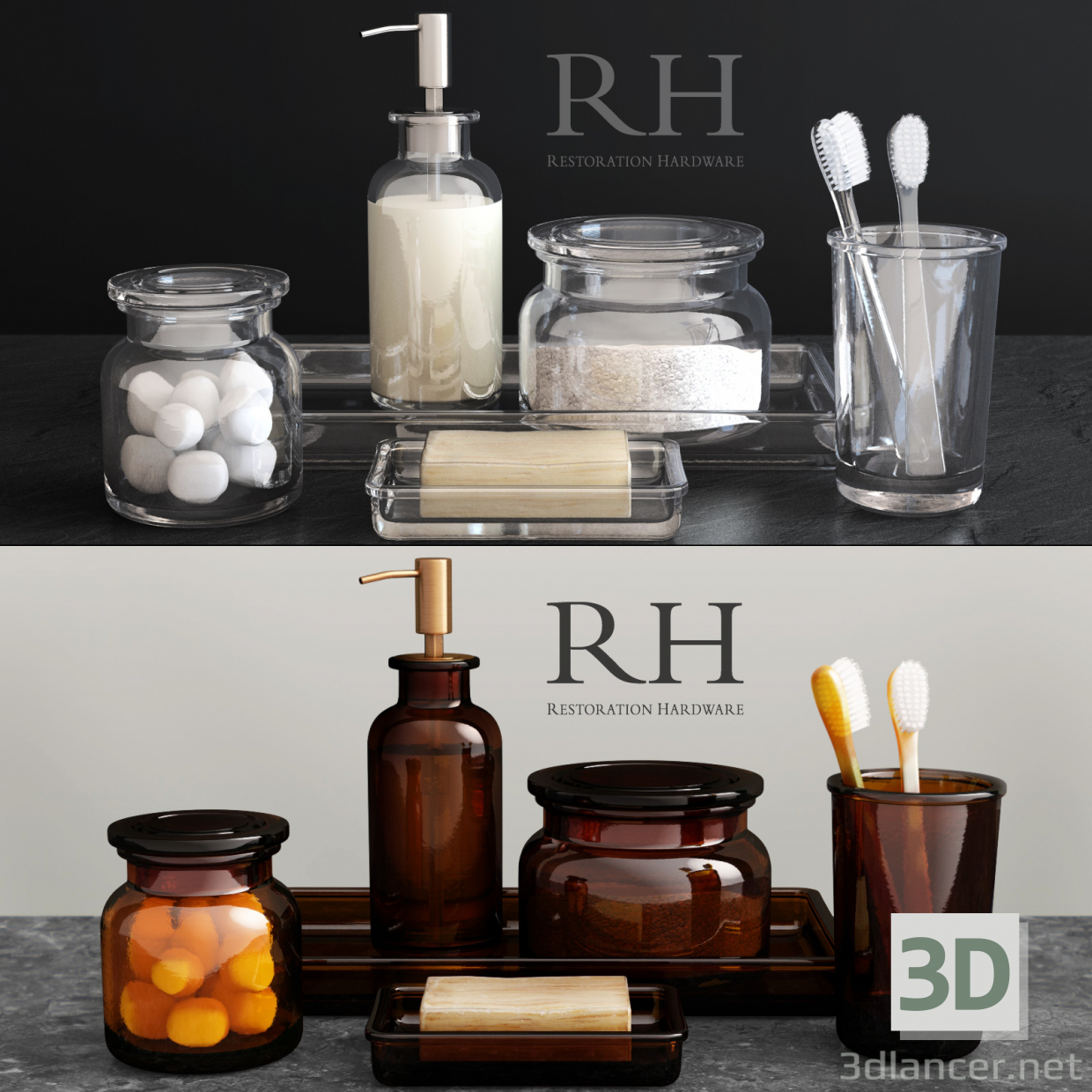 3d model PHARMACY ACCESSORIES - preview