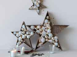 "New Years decor ""Stars"""