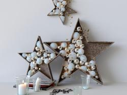 """Decoração de ano novo """"estrelas"""""""