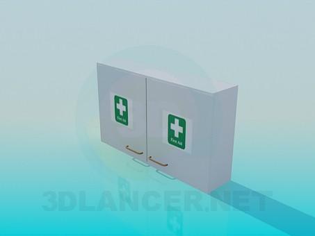 3d модель Аптечка настенная – превью