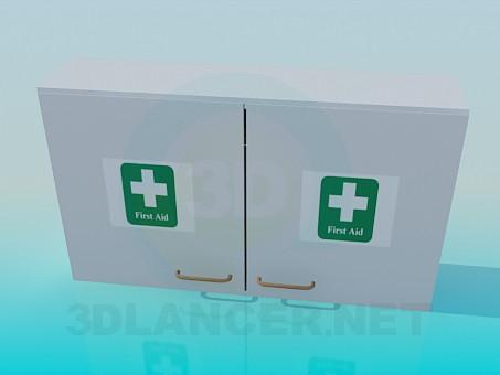 3d модель Аптечка настінна – превью
