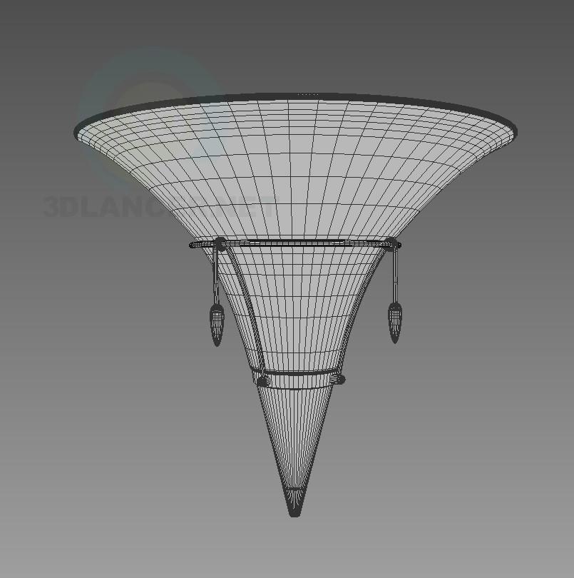 modelo 3D Bra Kolarz 875.62 Wandleuchte - escuchar