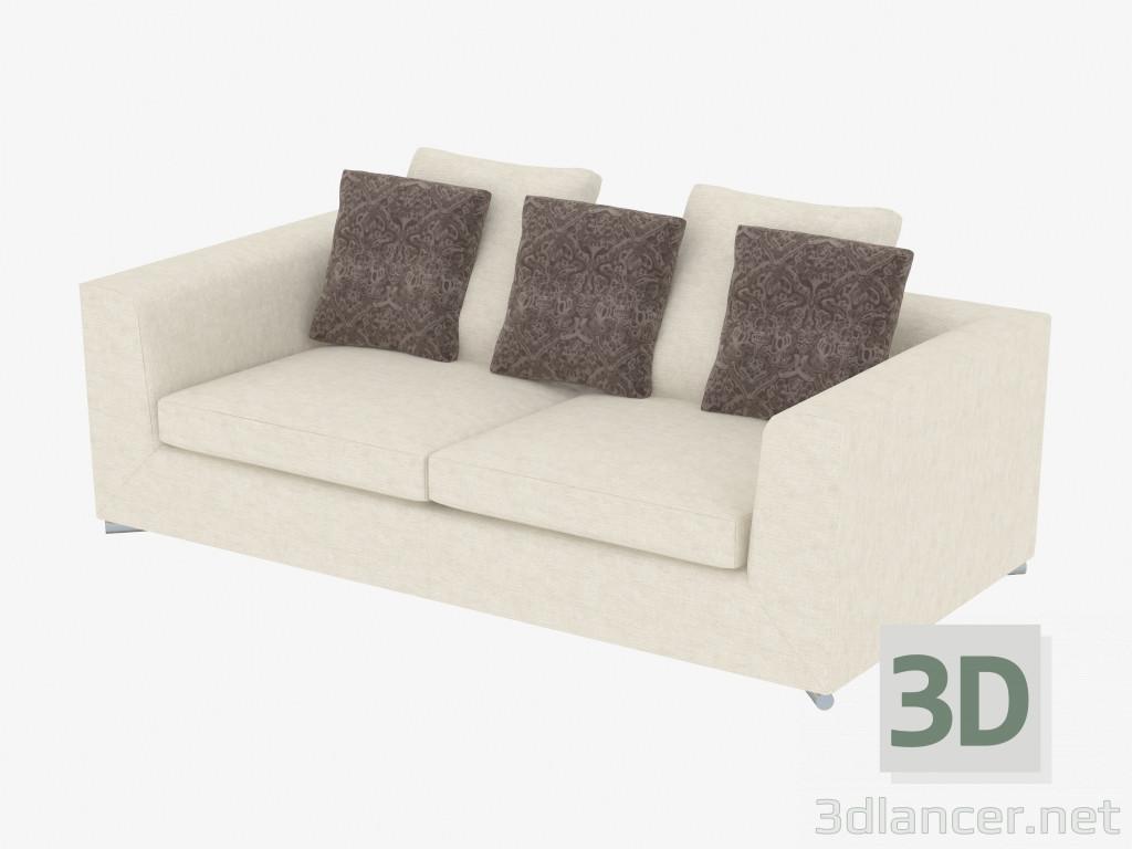Modelo 3d sofás modulares Klimt (210) del fabricante Minotti Диваны ...