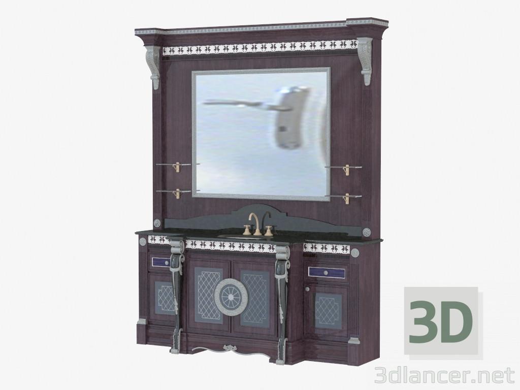 3d моделювання Меблі для ванної Master модель завантажити безкоштовно