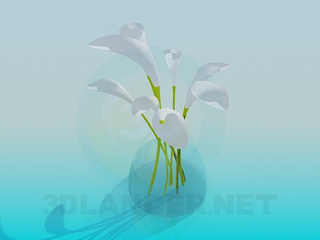 3d model Bouquet - preview