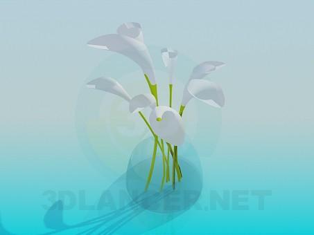 3d model Bouquet - preview