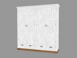 Armoire 4 portes (PRO.093.XX 200x204x56cm)