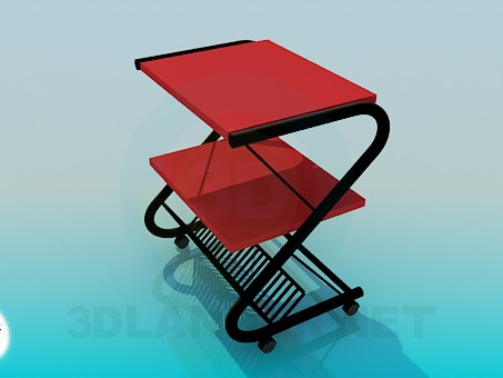 3d modeling Stand for newspapers model free download