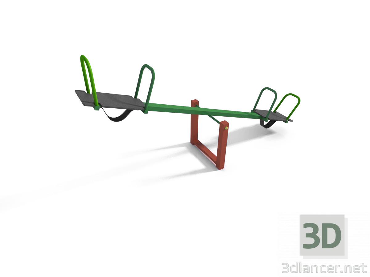 3d Swing. Balance model buy - render