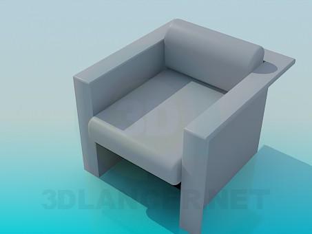 3d модель Кресло в стиле минимализм – превью