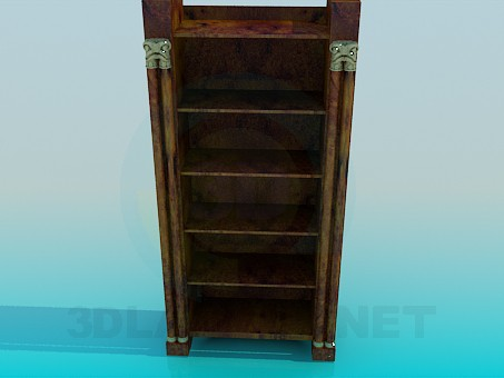 3d modeling Bookcase model free download