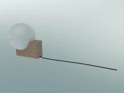Table lamp, wall Journey (SHY1, 26х18cm, H 24cm, Clay)