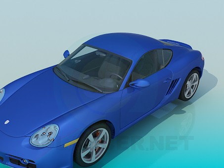 3d modeling Porsche model free download
