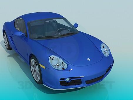 3d модель Porsche – превью