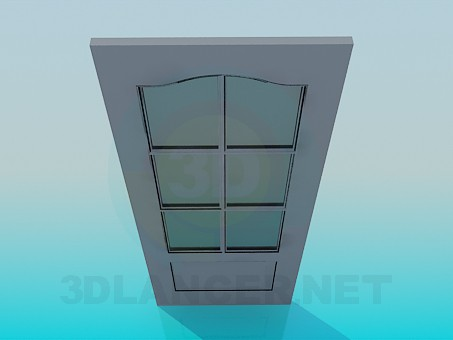3d modeling Interior door model free download