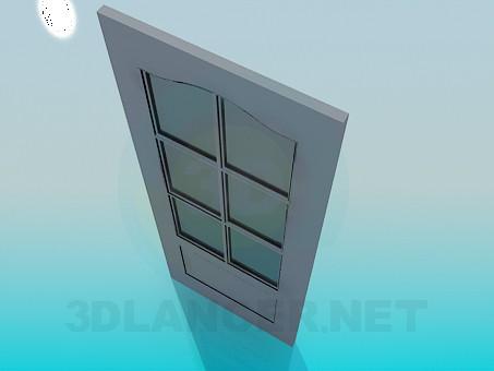 3d модель Межкомнатная дверь – превью
