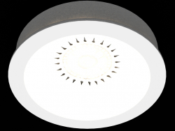 Recessed gypsum LED light (DL240G)